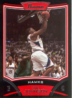 2008-09 Bowman #90 Joe Johnson