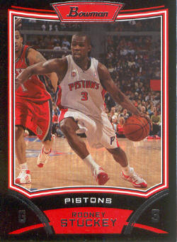 2008-09 Bowman #95 Rodney Stuckey
