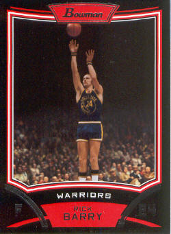 2008-09 Bowman #102 Rick Barry