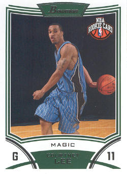 2008-09 Bowman #131 Courtney Lee RC