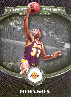 2008-09 Topps Treasury #98 Magic Johnson