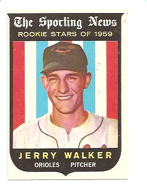 1959 Topps #144 Jerry Walker RS