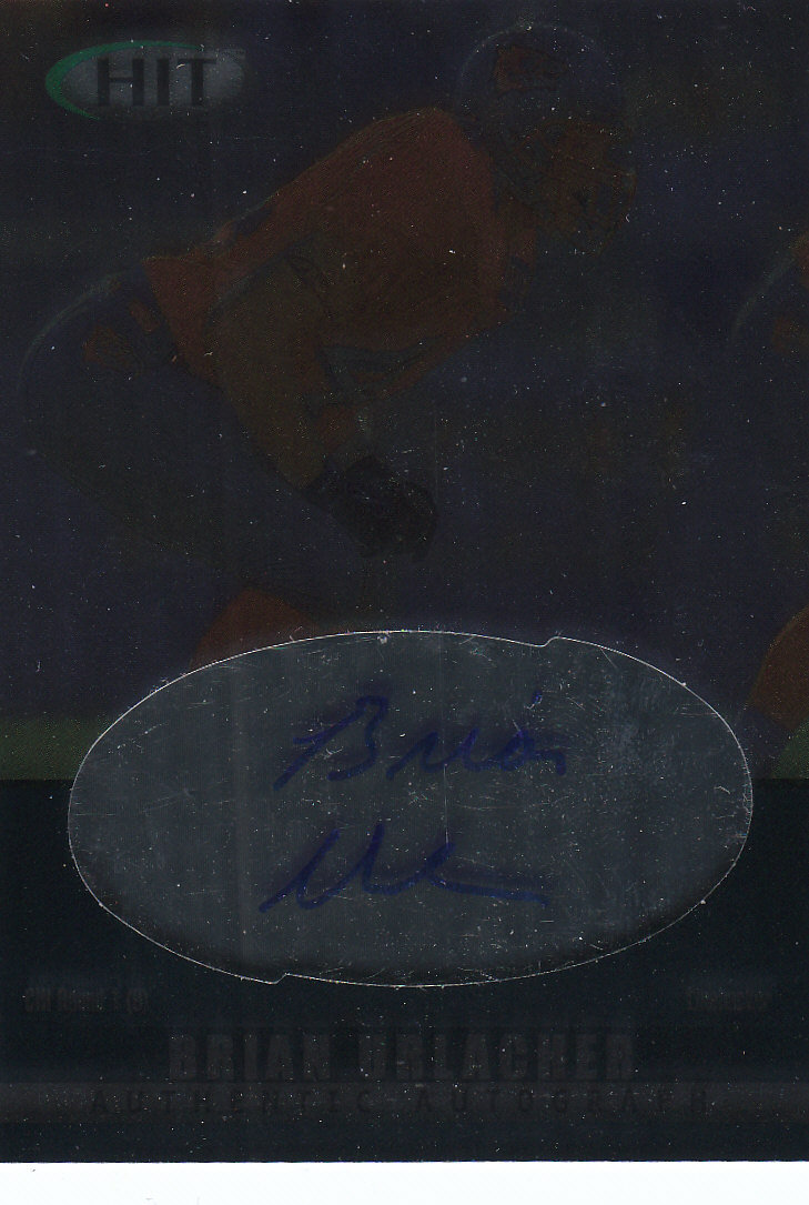 2000 SAGE HIT Autographs Diamond #44 Brian Urlacher