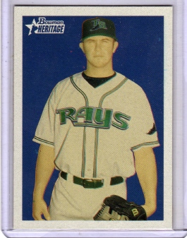 2006 Bowman Heritage Prospects #76 Evan Longoria