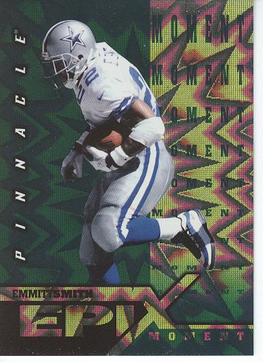 1997 Pinnacle Certified Epix Emerald #E1 E.Smith MOMENT front image