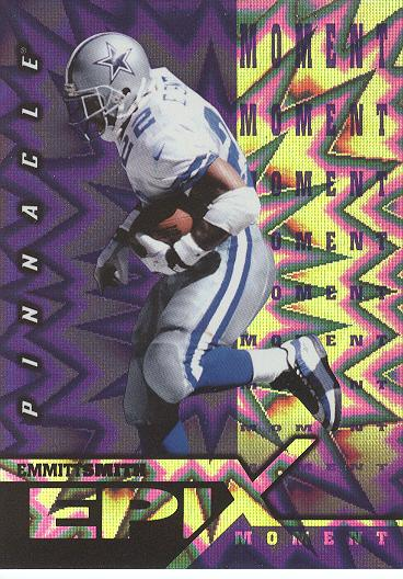 1997 Pinnacle Certified Epix Purple #E1 E.Smith MOMENT