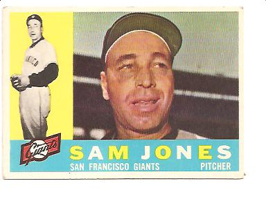 1960 Topps #410 Sam Jones