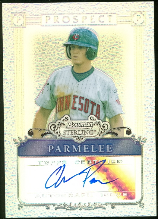 2006 Bowman Sterling Prospects Refractors #CP Chris Parmelee AU
