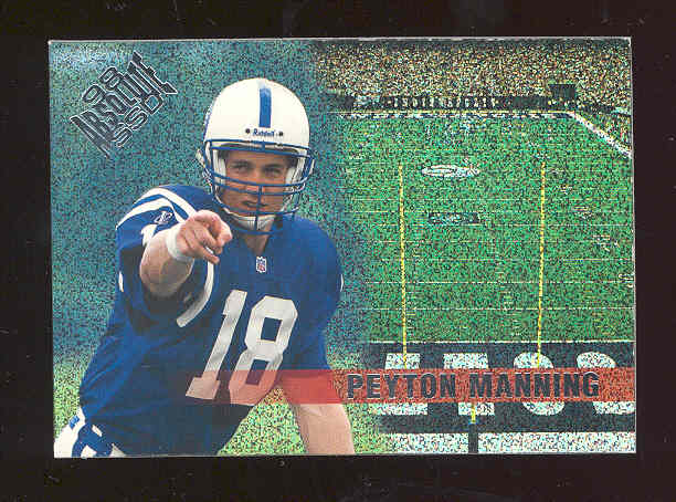 1998 Absolute Checklists #12 Peyton Manning