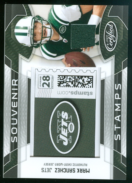 2009 Certified Souvenir Stamps Material Pro Team Logos #30 Mark Sanchez