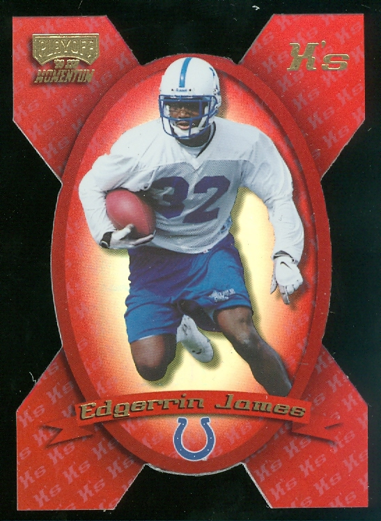 1999 Playoff Momentum SSD X's #154 Edgerrin James