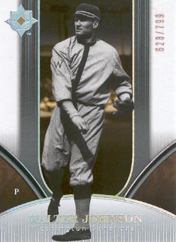 2006 Ultimate Collection #19 Walter Johnson