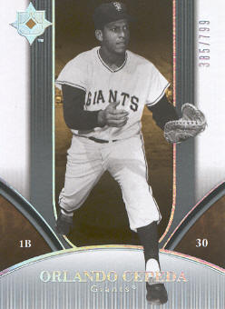 2006 Ultimate Collection #194 Orlando Cepeda