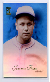2009 Topps Tribute Blue #66 Jimmie Foxx