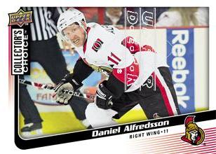 2009-10 Collector's Choice #55 Daniel Alfredsson