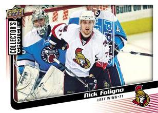 2009-10 Collector's Choice #57 Nick Foligno
