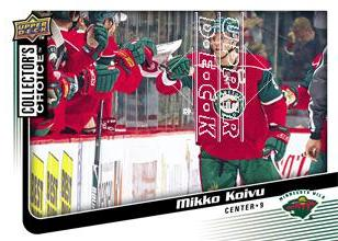 2009-10 Collector's Choice #72 Mikko Koivu