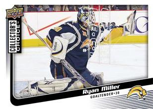 2009-10 Collector's Choice #81 Ryan Miller