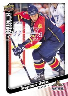 2009-10 Collector's Choice #85 Stephen Weiss
