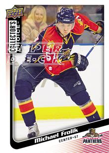 2009-10 Collector's Choice #86 Michael Frolik