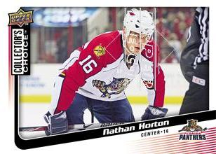 2009-10 Collector's Choice #89 Nathan Horton