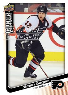 2009-10 Collector's Choice #135 Simon Gagne