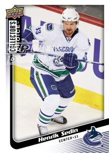 2009-10 Collector's Choice #139 Henrik Sedin