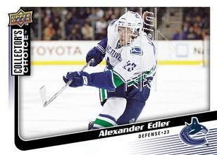 2009-10 Collector's Choice #141 Alexander Edler