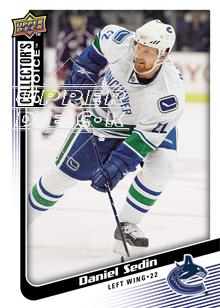 2009-10 Collector's Choice #143 Daniel Sedin