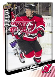 2009-10 Collector's Choice #148 Zach Parise