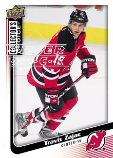 2009-10 Collector's Choice #149 Travis Zajac