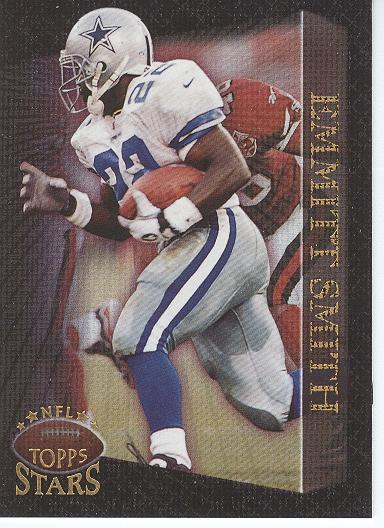 1997 Topps Stars Foil #70 Emmitt Smith