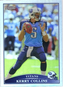 2009 Topps Chrome Refractors #TC61 Kerry Collins