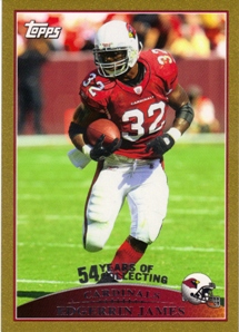 2009 Topps Gold #181 Edgerrin James