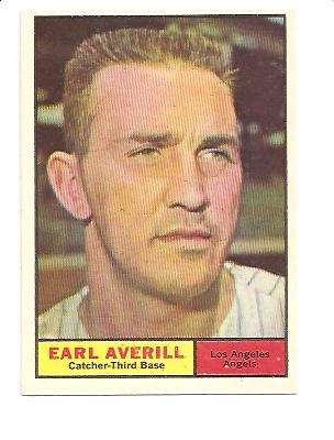 1961 Topps #358 Earl Averill Jr.