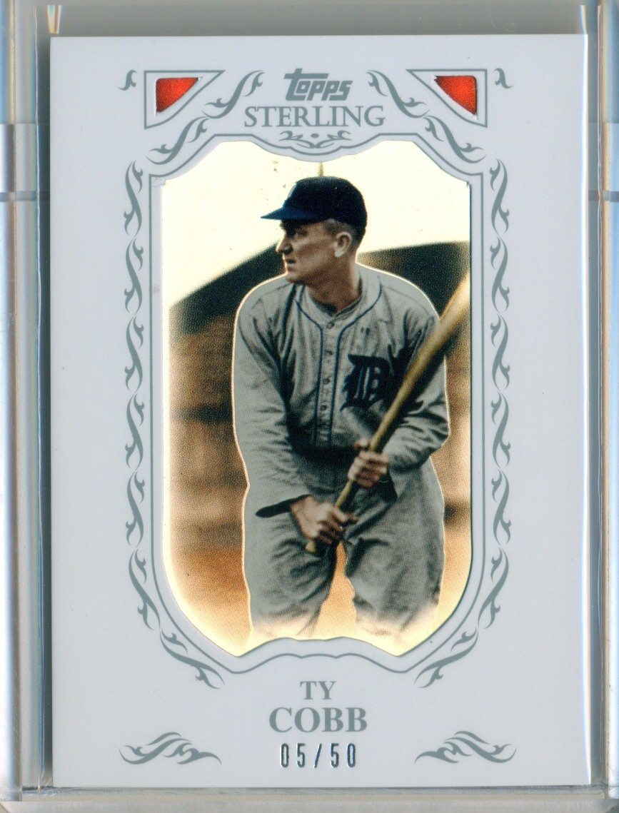 2009 Topps Sterling Framed White #27 Ty Cobb