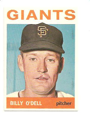 1964 Topps #18 Billy O'Dell