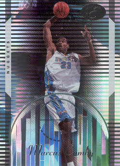 2006-07 Bowman Elevation #6 Marcus Camby