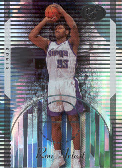 2006-07 Bowman Elevation #14 Ron Artest