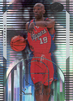 2006-07 Bowman Elevation #28 Sam Cassell