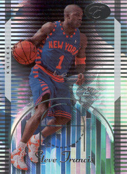 2006-07 Bowman Elevation #29 Steve Francis