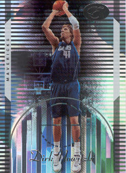 2006-07 Bowman Elevation #37 Dirk Nowitzki