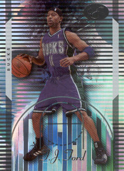 2006-07 Bowman Elevation #41 T.J. Ford