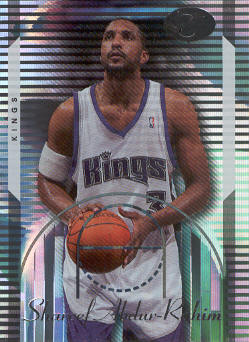 2006-07 Bowman Elevation #51 Shareef Abdur-Rahim