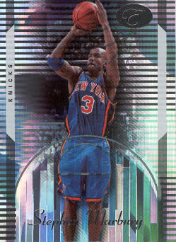 2006-07 Bowman Elevation #56 Stephon Marbury