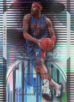 2006-07 Bowman Elevation #64 Rasheed Wallace