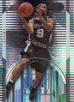 2006-07 Bowman Elevation #69 Tony Parker