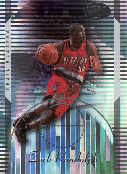 2006-07 Bowman Elevation #70 Zach Randolph
