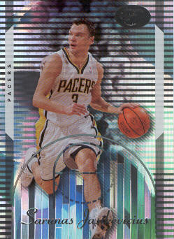 2006-07 Bowman Elevation #76 Sarunas Jasikevicius