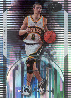 2006-07 Bowman Elevation #79 Luke Ridnour